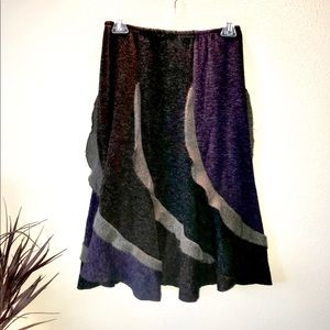 Soul-Flower Skirt- Multi color with ruffle detail